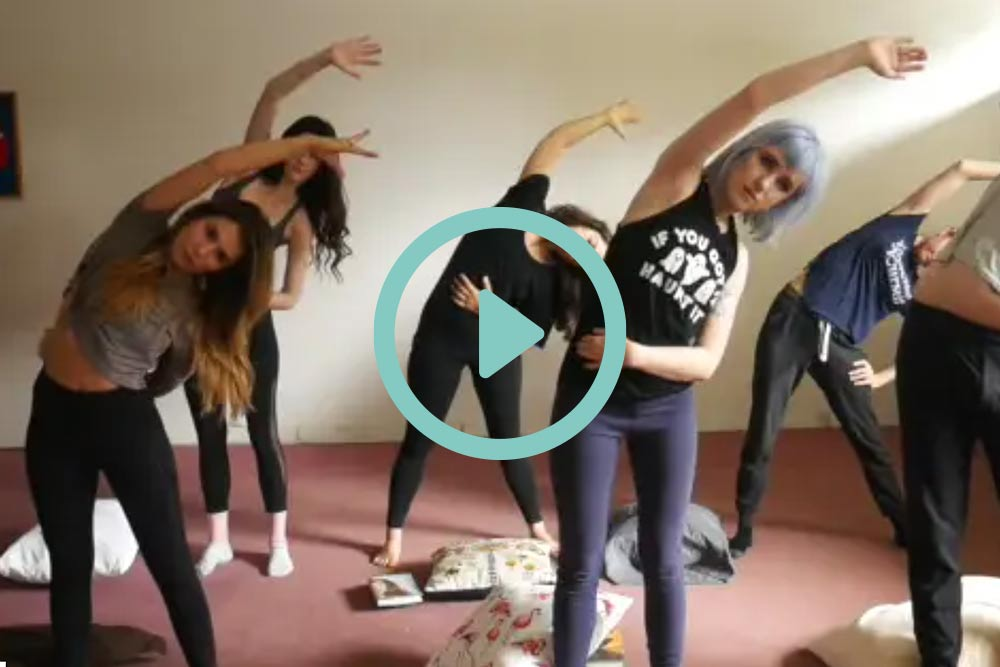 The Daily Dose Actors Workout Video