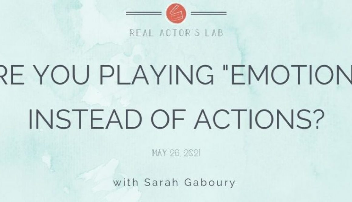 playing emotions